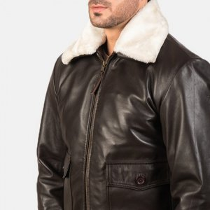Brown Bomber Airin Jacket