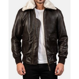 Airin G-1 Brown Bomber Jacket