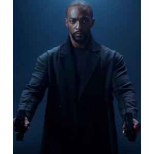 Altered Carbon Season 2 Anthony Mackie Black Coat