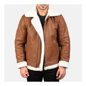Aviator Bomber B-3 Brown Jacket