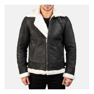Aviator B-3 Black Jacket