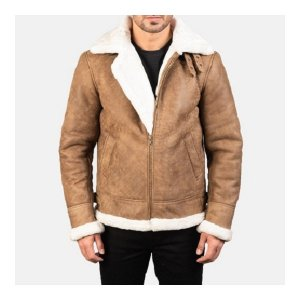 Aviator B-3 Distressed Brown Jacket