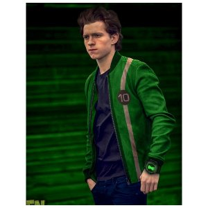 Ben 10 Tennyson Green Jacket
