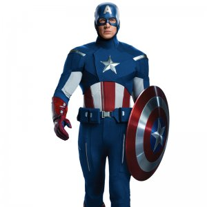 Avengers Captain America Leather Jacket