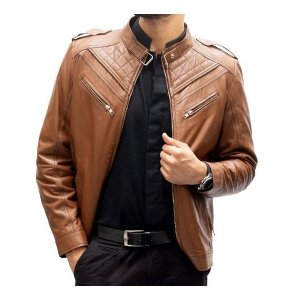 Chocolate Brown Jacket For Men