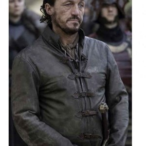 GOT Jerome Flynn Brown Jacket