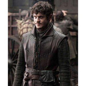 GOT Iwan Rheon Brown Vest