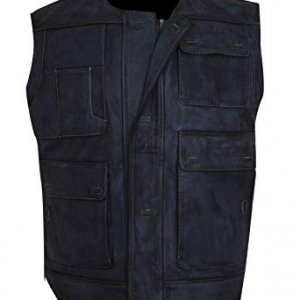 Star Wars Blue Leather Vest