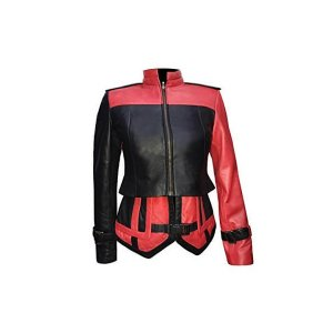 Harley Quinn Injustice 2 Leather Jacket and Vest