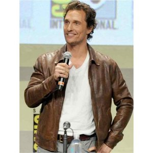 Interstellar Cooper Leather Jacket