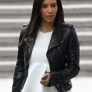 Kim Kardashian Black Jacket