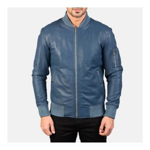 Ma1 Blue Bomber Jacket