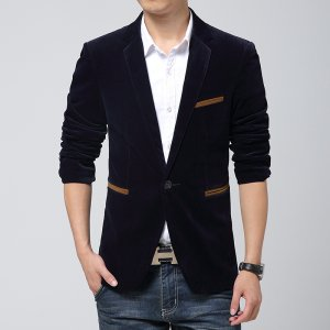 Navy-Blue-Velvet-Blazer-For-Men