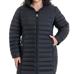 Plus Size Puffer Coat For Women