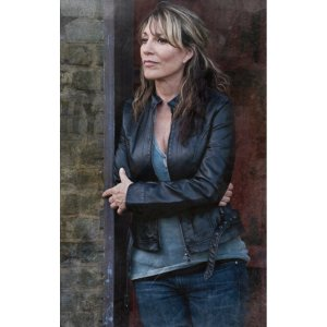Katey Sagal Sons of Anarchy Gemma Teller Biker Jacket
