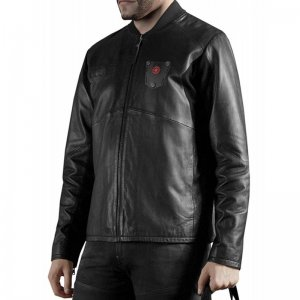 Star Wars Black Leather Jacket