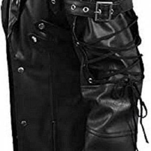 Gothic Steampunk Black Trench Coat