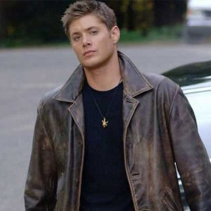 Supernatural Distressed Brown Dean Winchester Leather Trench Coat