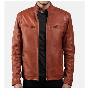 Mens Tan Brown Jacket