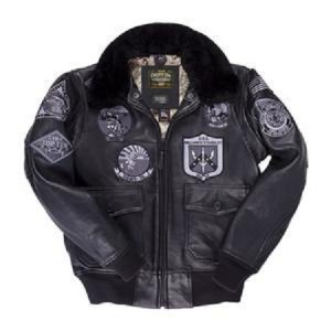 Top Gun Stealth Black Jacket
