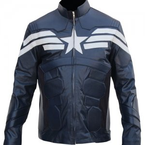Captain America Blue Jacket