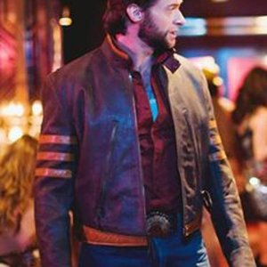 X-Men Wolverine Leather Jacket