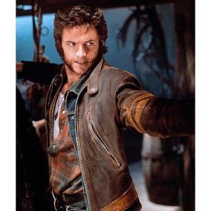 X-Men Logan Leather Jacket