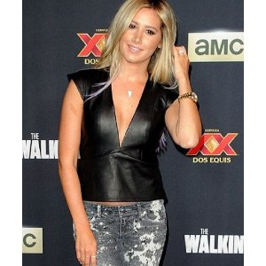 ashley-tisdale-leather-vests-from-the-walking-deads-premier