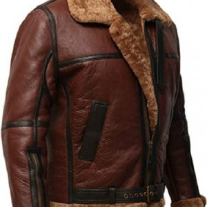 Aviator Air Force Flight Leather Jacket for Men
