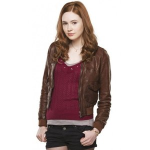 doctor-who-amy-pond-brown-leather-jackets