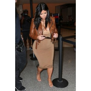 kim-kardashian-women-brown-leather-jackets