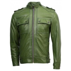 men-green-biker-jackets