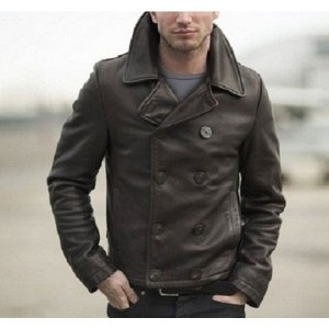 naval-short-brown-leather-peacoats