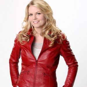 Once Upon a Time Jennifer Morrison Red Leather Jacket