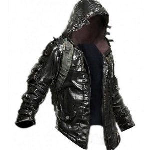 pubg-black-leather-jacket