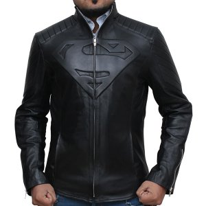 superman-black-leather-jackets