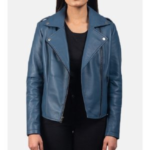 blue-leather-biker-jacket-for-women