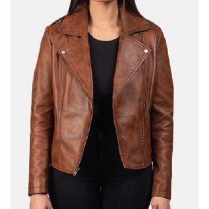 womens-flashback-brown-leather-biker-jacket