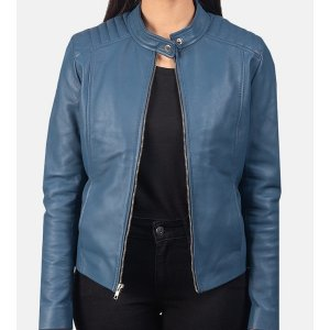womens-kelsee-blue-leather-biker-jacket
