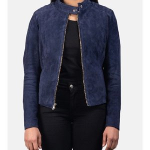womens-kelsee-navy-blue-leather-jackets
