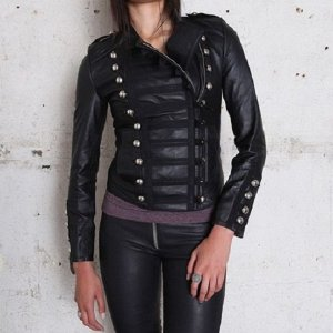 womens-napoleon-military-leather-jacket