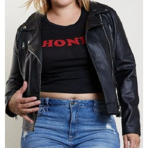 plus-size-black-leather-moto-jacket-womens