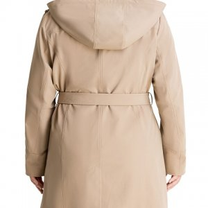 womens-plus-size-hooded-belted-trench-coat