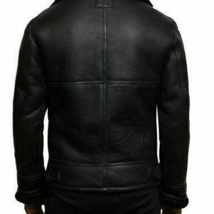 B3_Bomber_Genuine_Shearling_Sheepskin_Leather_Jacket