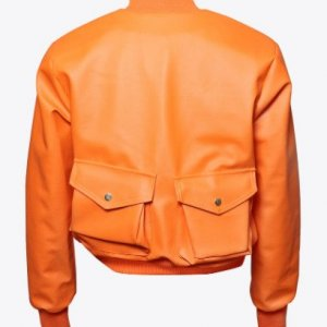 MM-02-orange-Cargo-Aviator-Leather-Jacket