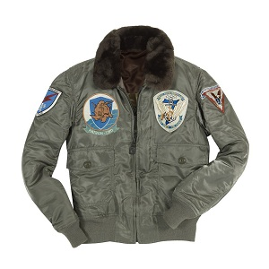 G-1 US Fighter Top Gun Patches Jacket