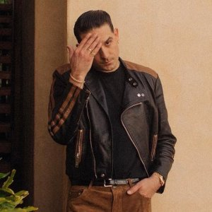 G-EAZY-RAPPER-BROWN-AND-BLACK-JACKET