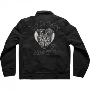 Rapper-G-Eazy-Black-Jacket-Back