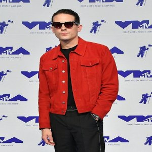 GEazy-Red-Suede-Leather-Jacket