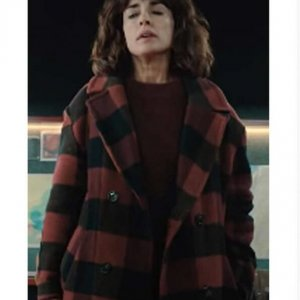 Raquel The Mess You Leave Behind Plaid Coat